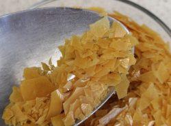 ADC fournisseur de cire de carnauba en paillettes carnauba wax flakes provider